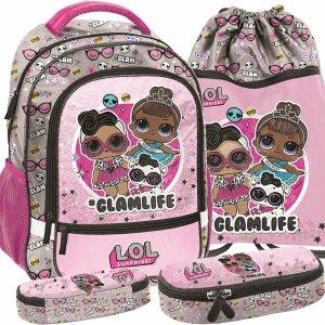 Plecak Lol Surprise do Szkoły Podstawowej dla Dziewczyny Paso [LOD-260]