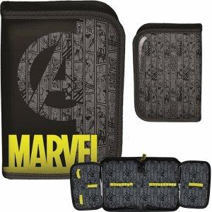 Piórnik Avengers dla Chłopaka Rozkładany Iron Man Thor [ANA-001BW]