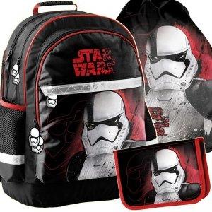 Plecak Szkolny Star Wars Komplet Chłopięcy [STP-116]