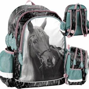 Plecak Szkolny dla Dziewczynki z Koniem Koń Konie [PP21KE-081]
