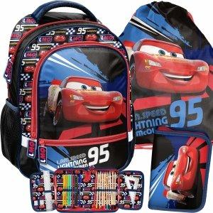 Plecak Zygzak Auta Cars Szkolny dla Chłopaka do 1 klasy [DSD-260]