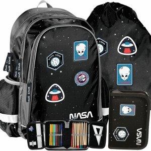 Nasa Plecak dla Chłopaków do Szkoły Kosmiczny Ufo [PP20NS-081]