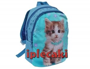 Plecak Przedszkolny z Kotkiem Kotem Kot Wycieczkowy [606615]