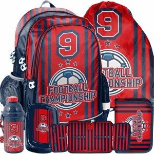 Plecak Szkolny dla Uczniów Football Pilka Nożna dla Chłopaków [PP21FO-081]