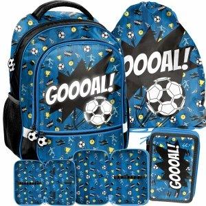 Szkolny Plecak do Szkoły Podstawowej do klas 1-3 Piłka Nożna [PP21FT-260]