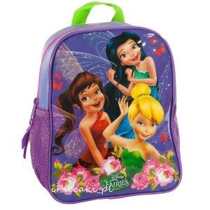 Plecak DZWONECZEK WRÓŻKI Przedszkolny na Wycieczki Basen dla Dziewczynki [DWF-303]