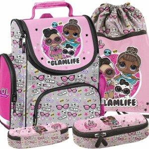Tornister Lol Surprise dla Dziewczyny do Szkoły z Lalkami Paso [LOD-525]