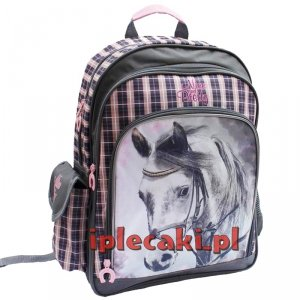 Plecak z Koniem Szkolny Koń Konie Dla Dziewczyny [604845]