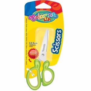 Nożyczki Szkolne dla Dziecka 12,5 cm Colorino Zielone [38515PTR]