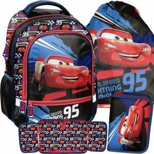 Zygzak McQueen Plecak Auta Cars Szkolny do Szkoły Podstawowej [DSD-260]