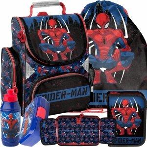 Komplet 5w1 Tornister do Szkoły Spider Man dla Chłopaka [SPY-525]
