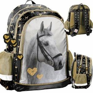 Konie Plecak dla Dziewczynki Szkolny Paso Koń do 1 Klasy [PP20H-081]