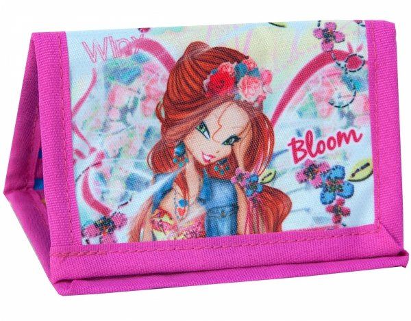 PORTFEL Dziecięcy WINX Fairy Flora dla dziewczynek [WXB-002