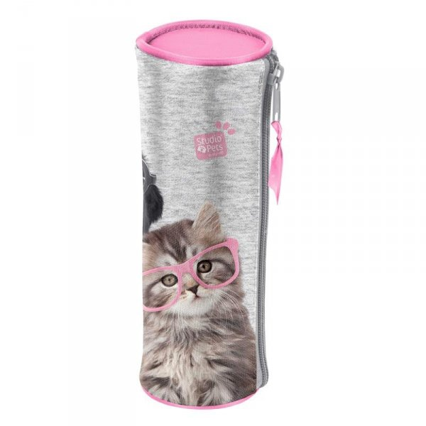 Piórnik Piesek Kot Szkolny Tuba dla Dziewczyny