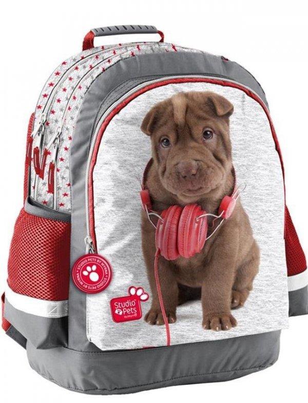 Plecak Szkolny z Pieskiem dla Dziewczyny [PEJ-116]