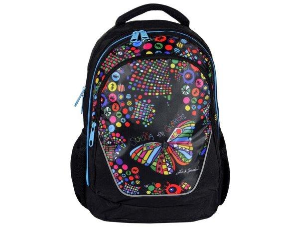 Plecak Młodzieżowy Big Dream dla Dziewczyny Motyl