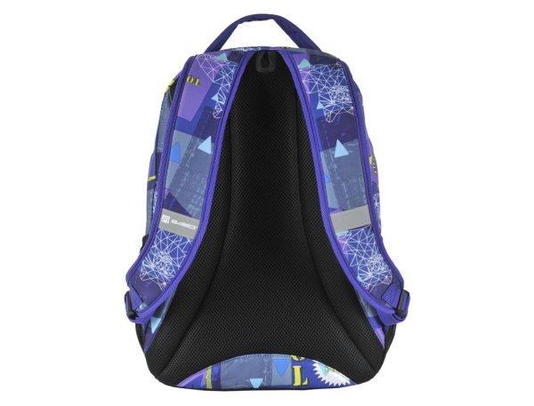 Plecak Młodzieżowy Szkolny dla Dziewczyny Fioletowy