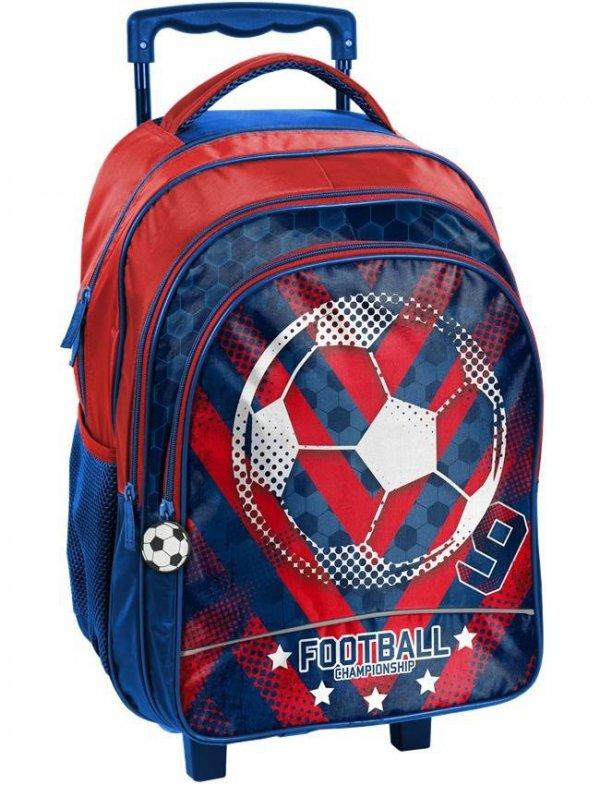 Plecak na Kółkach Szkolny Football Piłka Nożna [18-300FL]