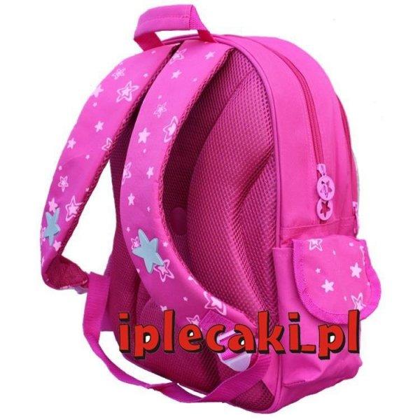 plecaki szkolne z kotem