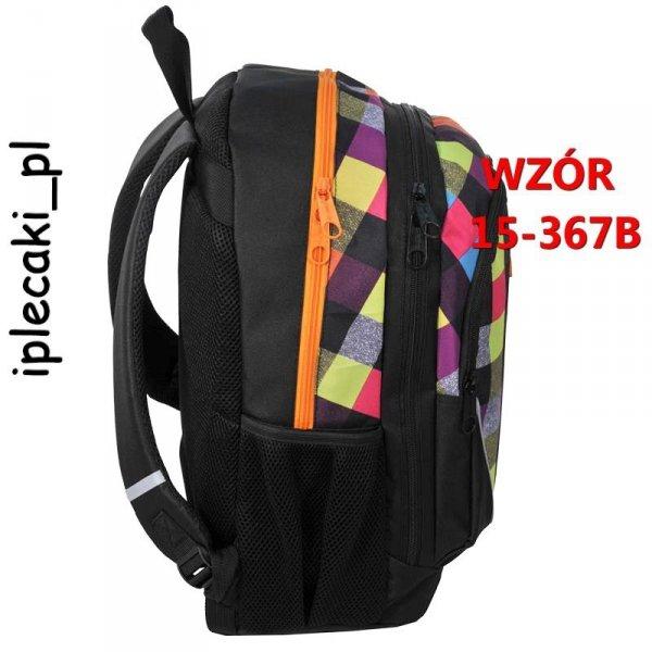 Plecak Szkolny Młodzieżowy Sportowy Miejski 15-367B