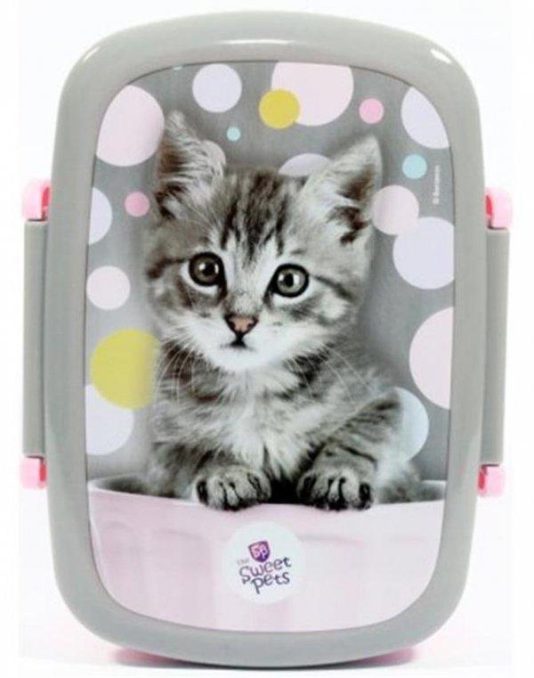 Plecak z Kotkiem Szkolny dla Dziewczynki Zestaw [RHV-090]