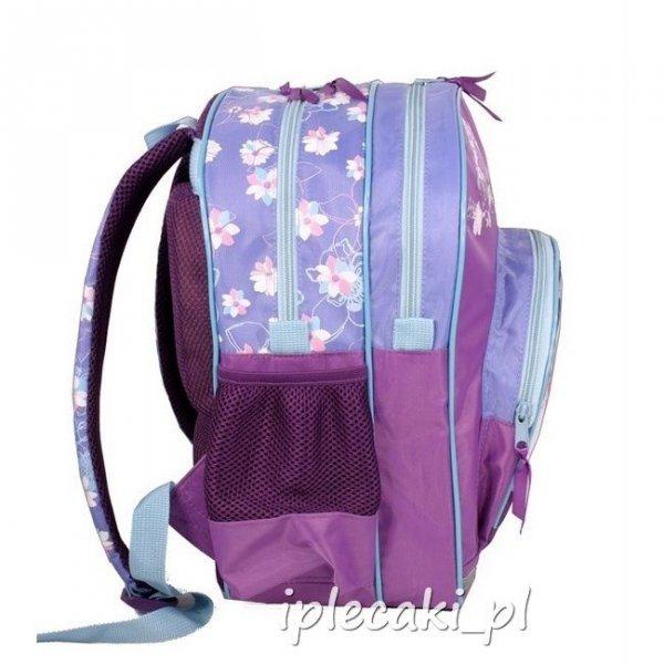 Plecak szkolny piórnik z wyposażeniem worek gimnastyczny Wróżka Wróżki Dzwoneczek DFR-157