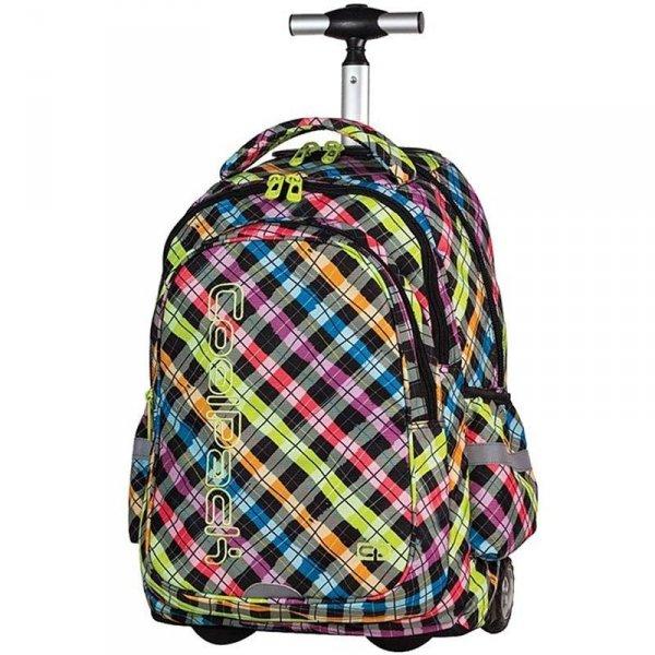 Plecak na Kółkach Cp CoolPack Szkolny Kratka Color Check 61025cp