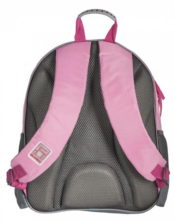 Plecak Szkolny Kot Kotek dla Dziewczynki Różowy Zestaw [RAM-090]