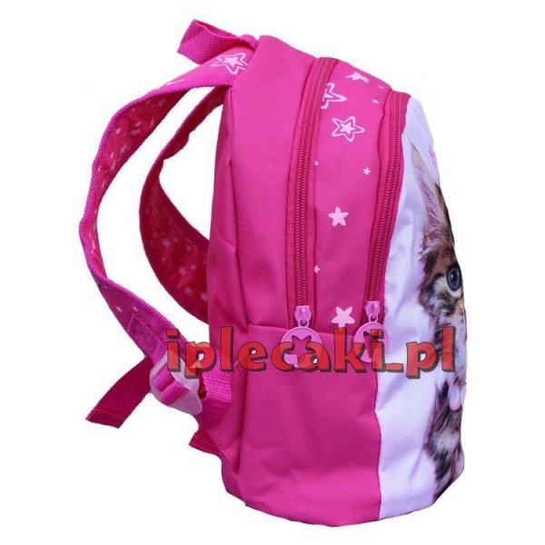 plecaczek mały plecak do przedszkola z kotkiem 605499