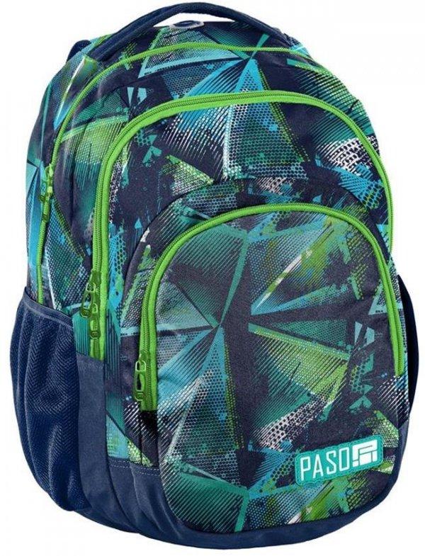 Plecak Młodzieżowy Szkolny Duży dla Chłopaka [18-2706RG]