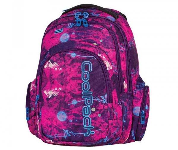 plecak cp coolpack szkolny młodzieżowy filetowy różowy 61377 537