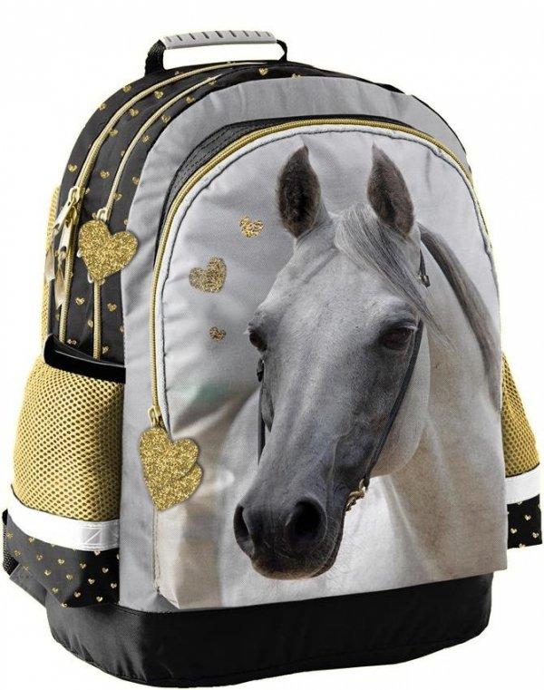 Plecak Koń Konie dla Dziewczynki Szkolny [PP19H-116]