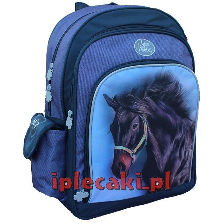 98c36900ae0a4 Plecak z Koniem Koń Konie Szkolny dla dziewczyny iplecaki.pl