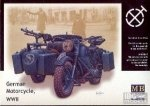 MB 3528 1/35 German Motorcycle BMW R75