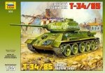 Zvezda 3533 T-34/85 Sov. Tank 1/35