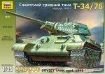 Zvezda 3535 SOV. TANK T-34/76