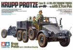 TAMIYA 35259 KRUPP TOWING TRUCK
