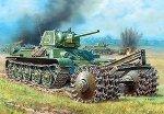 Zvezda 3580 SOV. T-34/76 W/ROL. 1/35