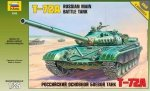 ZVEZDA 3552 RUSSIAN TANK T-72 1/35