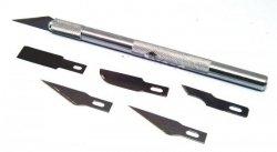 Nożyk modelarsk średni + ostrzai Exel EX19001