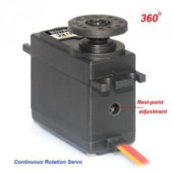 Serwo obrotowe 360 stopni - FS5106R - 6,0kg/cm servo