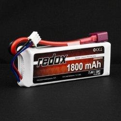 Akumulator Pakiet LiPo Redox 1800 mAh 7,4V 30C
