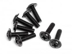 DOMED HEAD DISC SCREW M3X10 (8 )