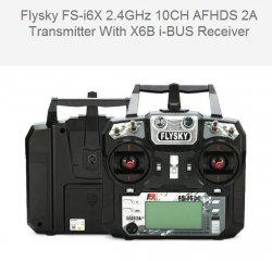 Aparatura FlySky FS-i6x + odbiornik A10B (10 kan)
