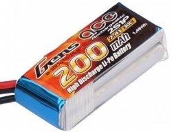 Akumulator Gens Ace 200mAh 7.4V 30C 2S1P