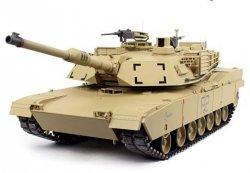 CZOŁG U.S. M1A2 Abrams 2.4 GHz 1:16 desert