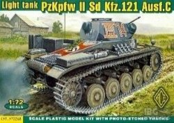 ACE 72268 1/72 PzKpfw II Sd.Kfz.121 Ausf.C
