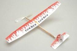 Samolot Fire Bird z napędem gumowym-na gumke