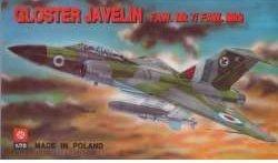 PLASTYK Gloster Javelin FAW.Mk. 7Mk.9 S-008