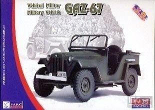 Parc Models 3501 1/35 Gaz-67